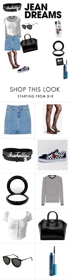"""""""it's just me"""" by effyswanhaze on Polyvore featuring MANGO, MAC Cosmetics, MaxMara, Givenchy, Le Specs, NYX and denimskirts"""