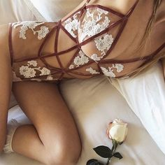 A little naughty, a little nice… The Darla Bodysuit is available at @revolveclothing among tons other new Spring styles that are already sold out on our site! | #DownToYourSKIVVIES #ForLoveandLemons