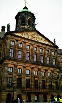 The Royale Palace Amsterdam in Dam Square