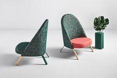 Le studio espagnol PerezOchando et la marque Missana collaborent pour la seconde fois et donnent naissance à Okapi, un fauteuil qui s'inspire de la nature