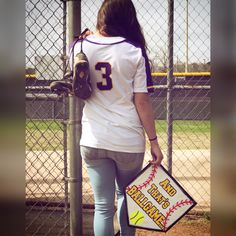 You can find Softball senior pictures and more on our website. Girls Softball Quotes, Girls Softball Room, Senior Softball, Softball Gifts, Softball Mom, Softball Helmet, Softball Uniforms, Room Girls, Quotes Girls