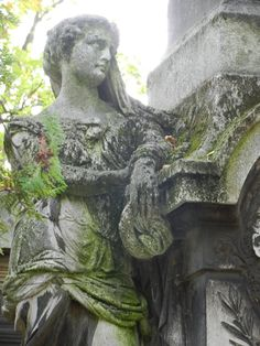 Moody --  in Pere Lachaise Cemetery in Paris