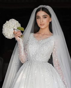 Muslimah Wedding Dress, Wedding Dressses, Muslim Wedding Dresses, Modest Bridesmaid Dresses, Bridal Wedding Dresses, Dream Wedding Dresses, Wedding Attire, Bride Dresses, Asian Bridal Dresses