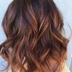 Close up. #hairpainting #balayage #beachy #lob #beachyhair #livedinhair #sandiegohairstylist #haircolor #brownhair