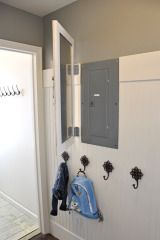 Mobile Photobucket hinged mirrored door to cover the fuse box