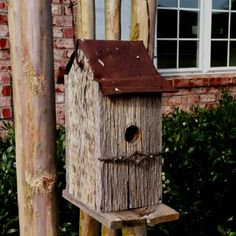 1000 images about bird houses on pinterest rustic - Old barn wood bird houses ...