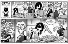 Erma :: Erma- Carving The Pumpkins | Tapastic Comics - image 1