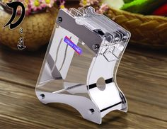 Find More Blocks & Roll Bags Information about Kitchen Transparent Alloy Acrylic ceramic knife holder, knife stand fruit knife block knife rack for 3, 4, 5, 6 inch knives,High Quality knife kitchen,China kitchen knife sharpener Suppliers, Cheap kitchen knife set from ShenZhen YuLong Trade Co.,Ltd. on Aliexpress.com