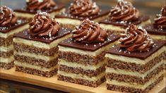 Easy Cake Recipes, Gourmet Recipes, Baking Recipes, Dessert Recipes, Russian Desserts, Delicious Desserts, Yummy Food, Tasty Chocolate Cake, Czech Recipes