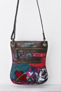 Desigual Multicolored messenger bag. Discover the new arrivals in our accessories collection!