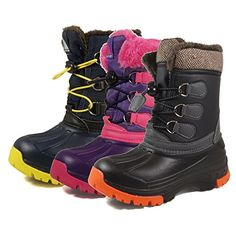 Nova Mountain Little Kids Winter Snow Boots * You can get more details by clicking on the image.