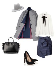 """Untitled"" by hugssy-rita ❤ liked on Polyvore featuring Hilfiger, Kenzo, Laveer, Blue Inc Woman, Givenchy and H&M"