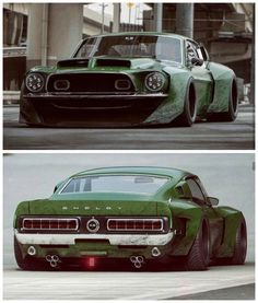Bad-ass Shelby Mustang