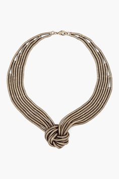 omg. lusting for this Dannijo Brass Knot Necklace soooooo badly.