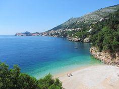 De #stranden van #Dubrovnik