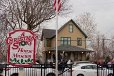 The original A Christmas Story House in Cleveland, Ohio