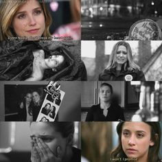 """Lindsay: """"Listen Nadia, don't break my heart again."""" Nadia: """"I won't. I promise."""""""