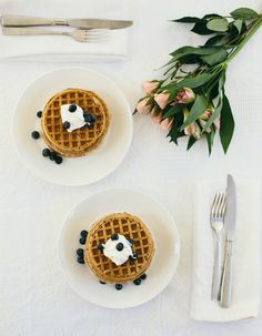 yummy brekkies!  Add a bouquet of flowers to your meal to make your loved one feel special.   Inspired by the movie Burnt in select theaters October 23 and everywhere October 30!