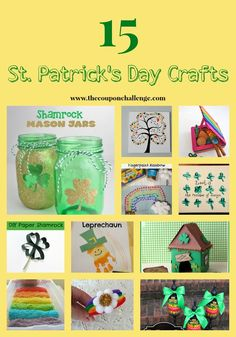 St. Patrick's Day Crafts I Easy St. Patrick's Day Crafts