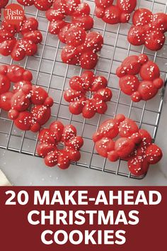 Frozen Christmas, Best Christmas Cookies, Christmas Sweets, Christmas Cooking, Christmas Goodies, Yummy Cookies, Holiday Cookies, Christmas Candy, Christmas Holidays