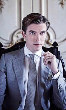 Dan Stevens.... He's a little out of my staple taste in guys... but I love him!