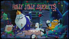 """""""Holly Jolly Secrets Part II"""" Title Card by Fred Seibert, via Flickr. Rather inspiring."""