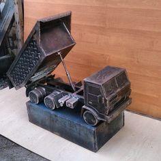 Поднимается и открывается борт #воронеж #мангалы #камаз #metalcraft