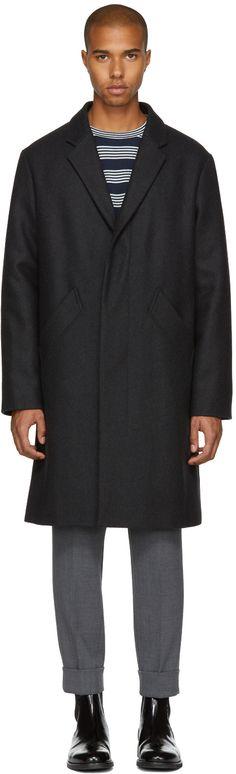 A.P.C. - Black Baron Coat