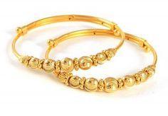 22k Gold Baby Bracelet.