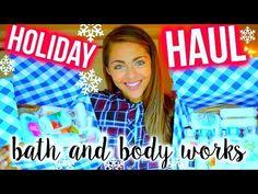 HUGE Bath and Body Works Haul! Holiday Edition: $3 Lotion Sale! Nichole Jacklyne - YouTube