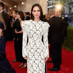 Jennifer Connelly in #LouisVuitton by @nicolasghesquiereofficial at last week's #MetGala2015