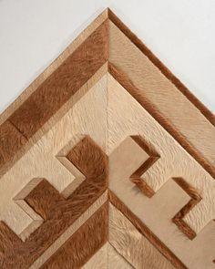 Moderne / Hide Rug / 15996 – Kyle Bunting Interior Rugs, Design Consultant, Bunting, Shapes, Artwork, Home Decor, Garlands, Work Of Art, Decoration Home