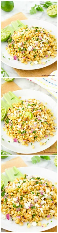 Grilled Mexican Street Corn Salad is every bit as good as classic street corn and then some, because it's loaded with fixin's and even easier to eat! It'll be a hit at your next summer barbecue.