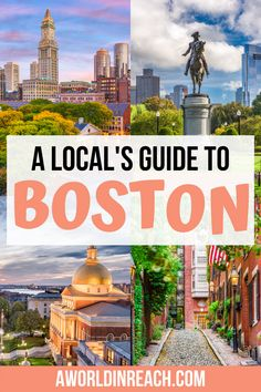 Planning a long weekend in Boston? Boston, Massachusetts is a beautiful New England city full of fun things to do and delicious eats! Check out this local's guide on how to spend 3 days in Boston! / Things to do in Boston / Where to Eat in Boston / Boston Massachusetts Itinerary / 3 Day Boston Itinerary / Where to Stay in Boston / Boston travel tips / Boston local's guide / USA Travel / USA Destinations / USA Road Trip / USA Travel Guide / Boston things to do / Boston Itinerary / Boston… Usa Travel Guide, Packing Tips For Travel, Travel Usa, Student Travel, United States Travel, Ultimate Travel, Future Travel, Travel Abroad, Cool Places To Visit