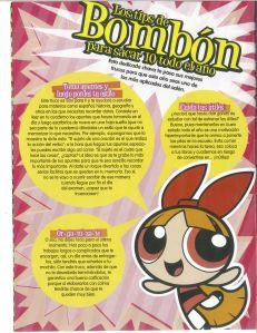 los tips de Bombon para sacar un 10 - back to school suggestions from PowderPuff Girls