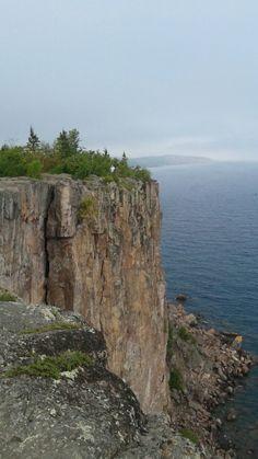 Highest point on Lake Superior.