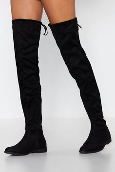 {Discover a wonderful variety of girls' knee high shoes, look around terrorist, rainfall, riding shoes and a lot more. Thigh High Boots Flat, High Heel Boots, Shoe Boots, Calf Boots, Ugg Boots, Winter Boots Outfits, Outfit Winter, Boot Outfits, Fall Outfits