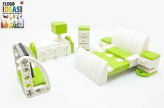 """2011 furniture models - lego models commissioned for dorling kindersley's """"lego ideas book"""""""