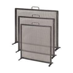 Wrought Iron Fire Screen – Flat