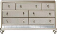 Sofia Vergara Paris Silver Dresser