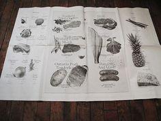 A Restaurant Inspired by Blacksmiths : Remodelista. Menu design printed on newsprint
