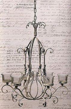 Details Zu Teelichthalter Kerzenleuchter Hängend Shabby Landhaus  Hängekerzenleuchter Glas