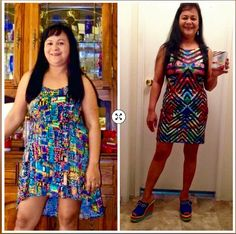 Dolly Arena Christian and her amazing weight loss transformation using Valentus Slim Roast Coffee. #slimroast Weightloss #coffee