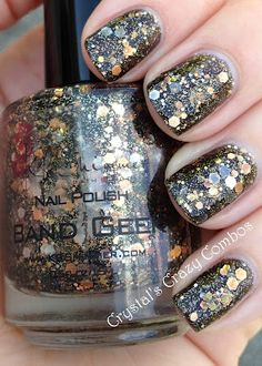KBShimmer - Band Geek. DID THEY SERIOUSLY NAME A NAIL POLISH AFTER US???? wait - is that good or bad?