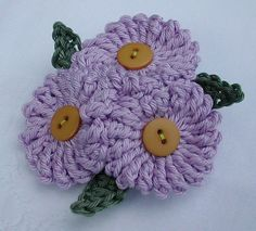 crochet flowers @ Afshan Shahid