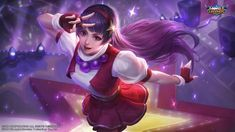 This HD wallpaper is about Mobile Legends, Guinevere, Athena Asamiya, Original wallpaper dimensions is file size is Carmilla, Bang Bang, Wallpaper Downloads, Hd Wallpaper, Graffiti Wallpaper, Snk King Of Fighters, Alucard Mobile Legends, Moba Legends, Mobile Legend Wallpaper