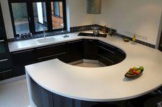 Corian Kitchen Worktops | CJEM Worksurfaces - Corian Worktops Fabricators Bristol