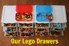 crayonfreckles: how to organize legos and lego activities collection