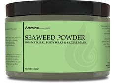 Seaweed Powder - 100% Natural Face Mask and Cellulite Body Wrap *** This is an Amazon Affiliate link. See this great product.
