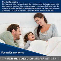 Tips sobre cómo llevar una armonía familiar dentro y fuera de casa. #Formaciónenvalores #SemperAltius